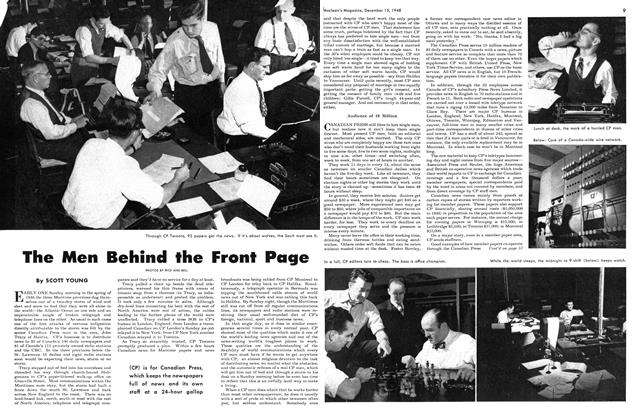 Article Preview: The Men Behind the Front Page, December 1948 | Maclean's