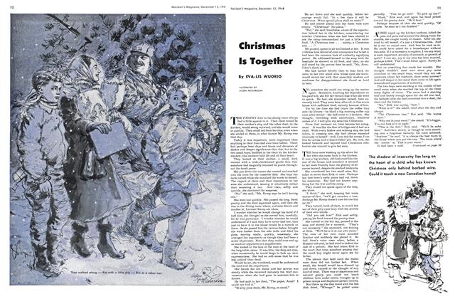 Article Preview: Christmas Is Together, December 1948 | Maclean's