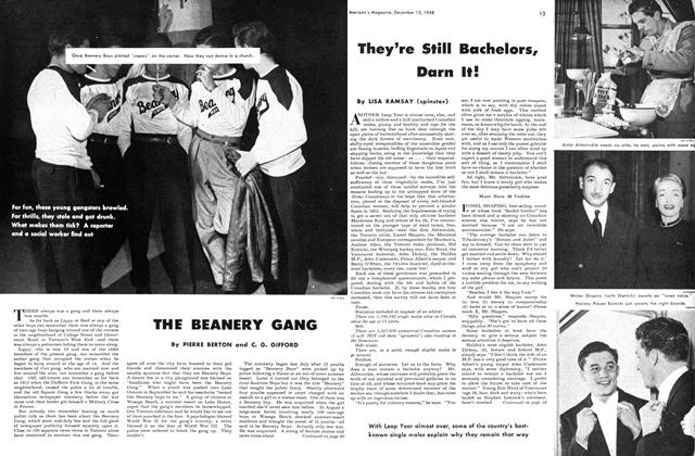 Article Preview: THE BEANERY GANG, December 1948 | Maclean's