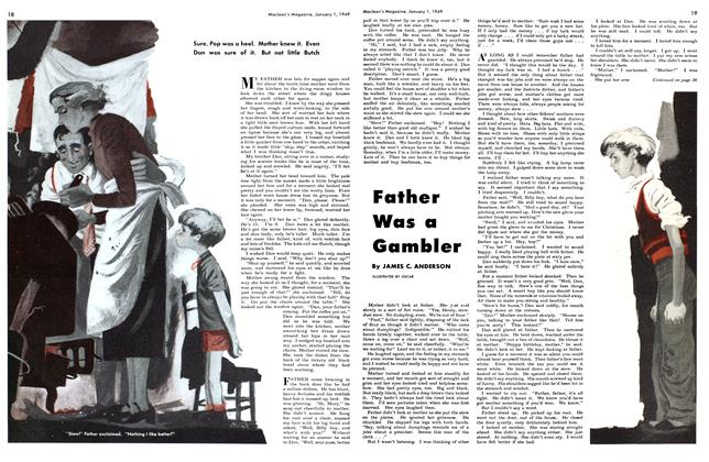 Article Preview: Father Was a Gambler, January 1949 | Maclean's