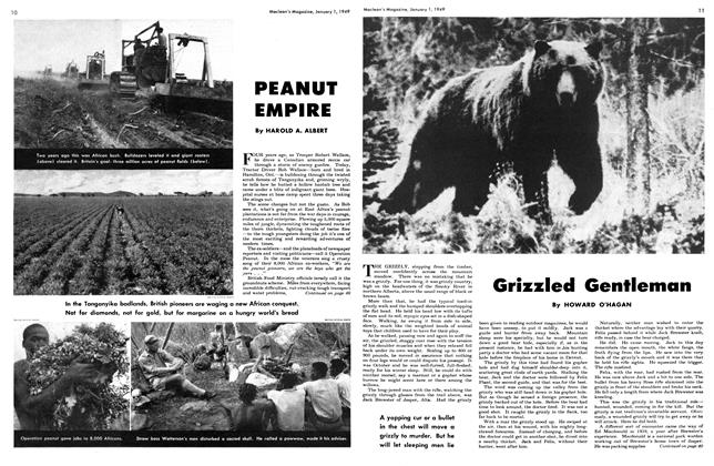Article Preview: PEANUT EMPIRE, January 1949 | Maclean's