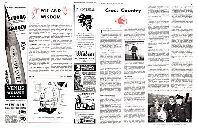 Article Preview: Cross Country, January 1949 | Maclean's