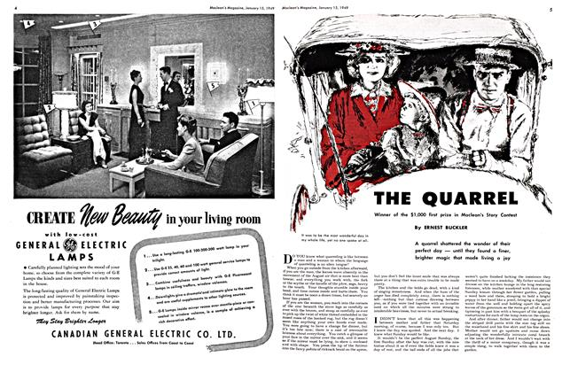 Article Preview: THE QUARREL, January 1949 | Maclean's