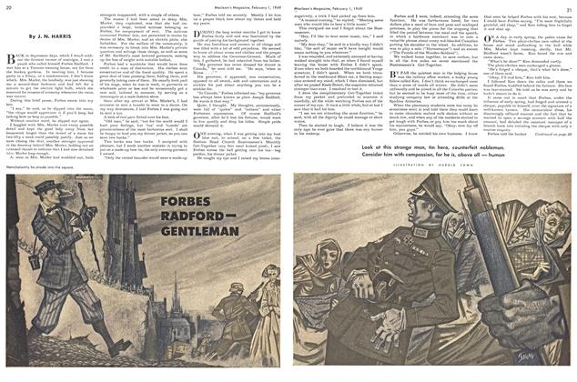 Article Preview: FORBES RADFORD— GENTLEMAN, February 1949   Maclean's