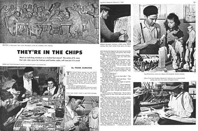 Article Preview: THEY'RE IN THE CHIPS, February 1949 | Maclean's