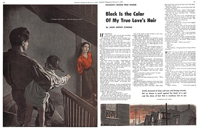 Article Preview: Black Is the Color Of My True Love's Hair, February 1949 | Maclean's