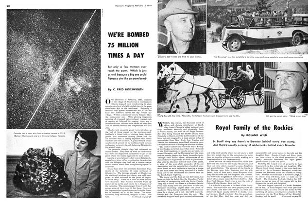 Article Preview: Royal Family of the Rockies, February 1949 | Maclean's
