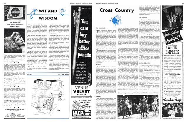 Article Preview: Cross Country, February 1949 | Maclean's