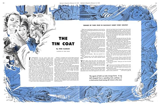 Article Preview: THE TIN COAT, February 1949 | Maclean's