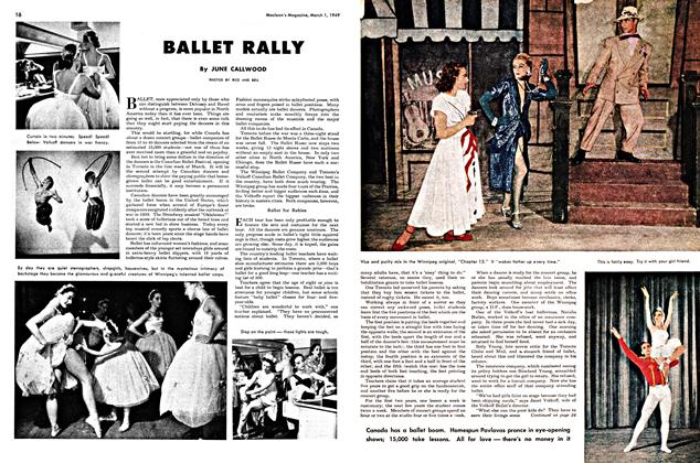 Article Preview: BALLET RALLY, March 1949 | Maclean's