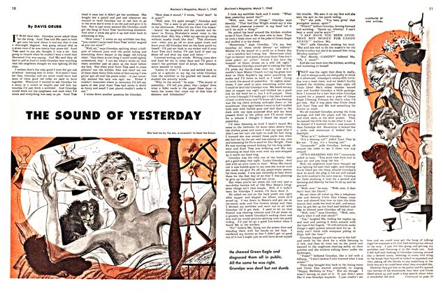 Article Preview: THE SOUND OF YESTERDAY, March 1949 | Maclean's