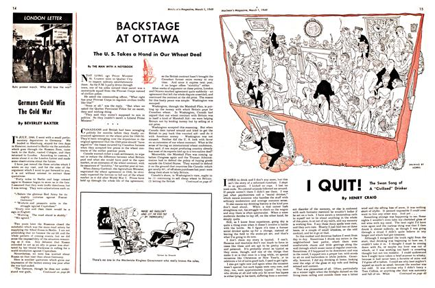 Article Preview: I QUIT!, March 1949 | Maclean's
