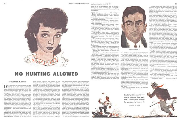 Article Preview: NO HUNTING ALLOWED, March 1949 | Maclean's