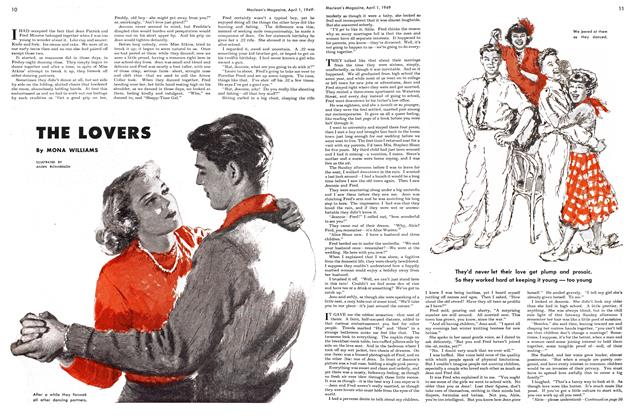Article Preview: THE LOVERS, April 1949 | Maclean's