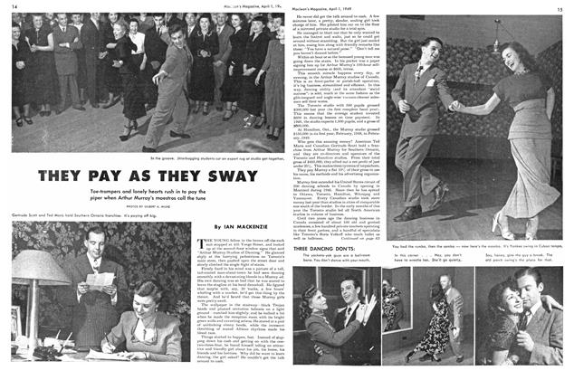 Article Preview: THEY PAY AS THEY SWAY, April 1949 | Maclean's