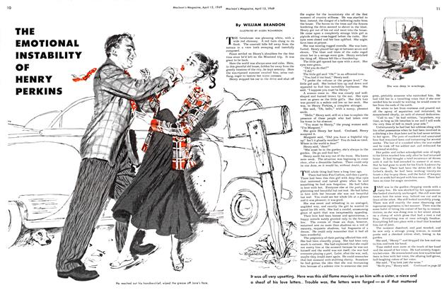 Article Preview: THE EMOTIONAL INSTABILITY OF HENRY PERKINS, April 1949 | Maclean's