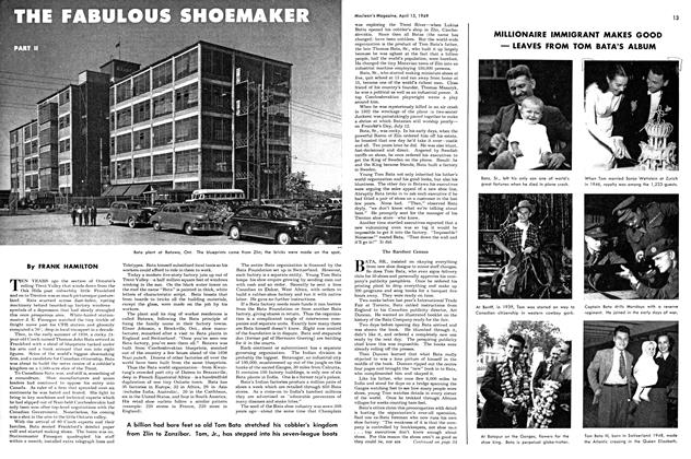 Article Preview: THE FABULOUS SHOEMAKER, April 1949 | Maclean's