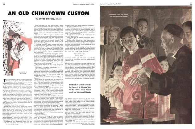 Article Preview: AN OLD CHINATOWN CUSTOM, May 1949 | Maclean's