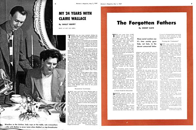 Article Preview: MY 24 YEARS WITH CLAIRE WALLACE, May 1949 | Maclean's