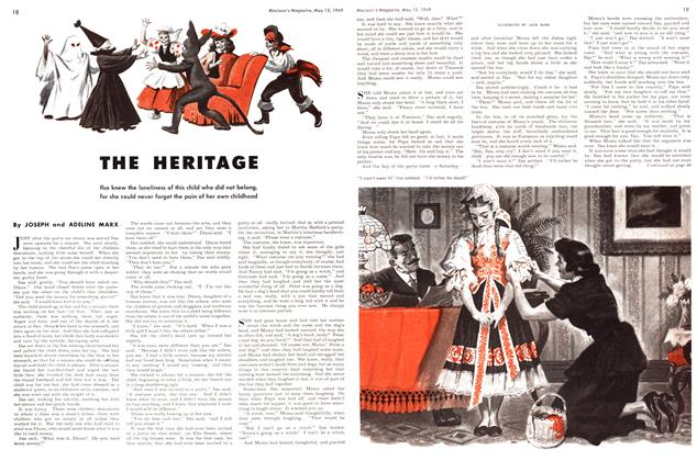 Article Preview: THE HERITAGE, May 1949 | Maclean's