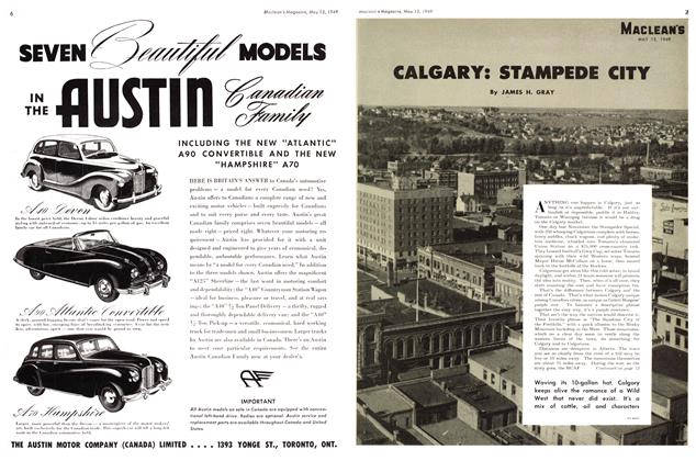 Article Preview: CALGARY: STAMPEDE CITY, May 1949 | Maclean's