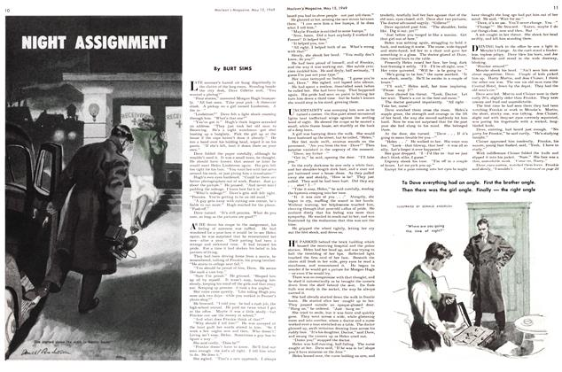 Article Preview: NIGHT ASSIGNMENT, May 1949 | Maclean's
