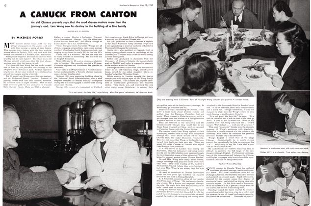 Article Preview: A CANUCK FROM CANTON, May 1949 | Maclean's