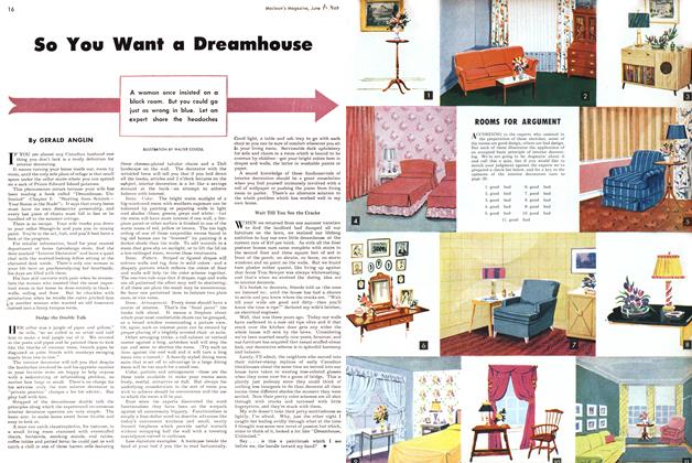 Article Preview: So You Want a Dreamhouse, June 1949 | Maclean's