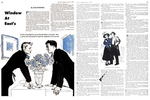 Article Preview: Window At East's, June 1949 | Maclean's