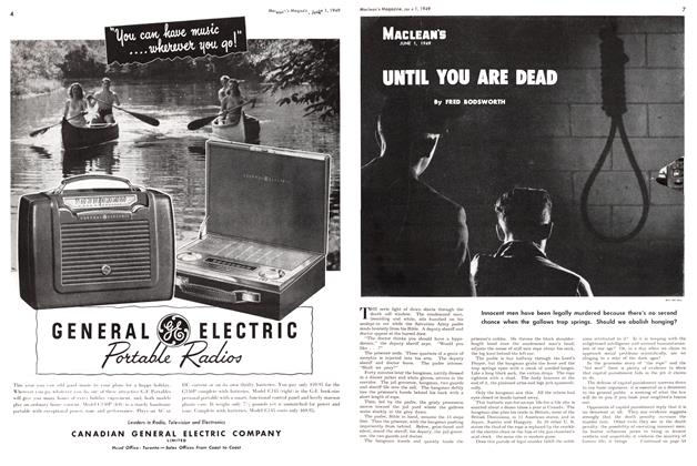 Article Preview: UNTIL YOU ARE DEAD, June 1949 | Maclean's