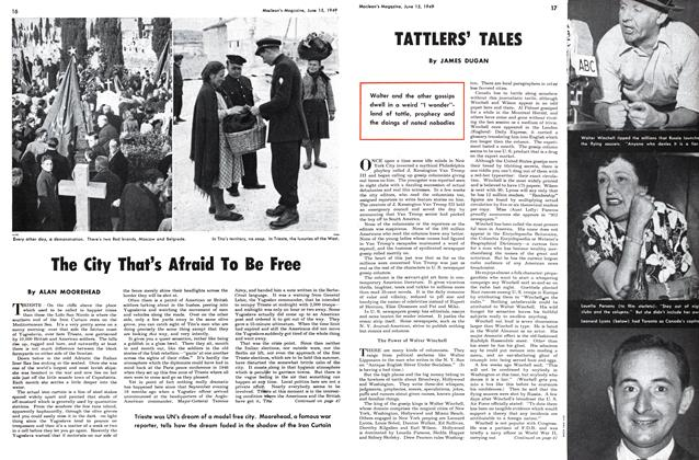 Article Preview: TATTLERS' TALES, June 1949 | Maclean's