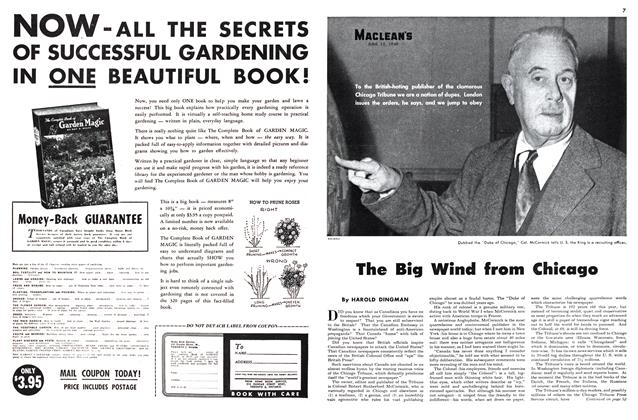 Article Preview: The Big Wind from Chicago, June 1949 | Maclean's