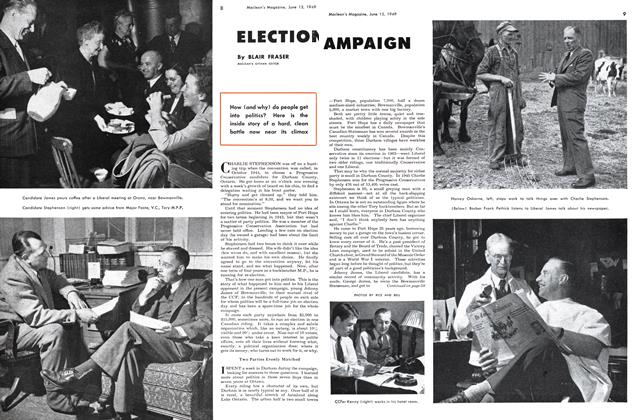 Article Preview: ELECTION CAMPAIGN, June 1949 | Maclean's