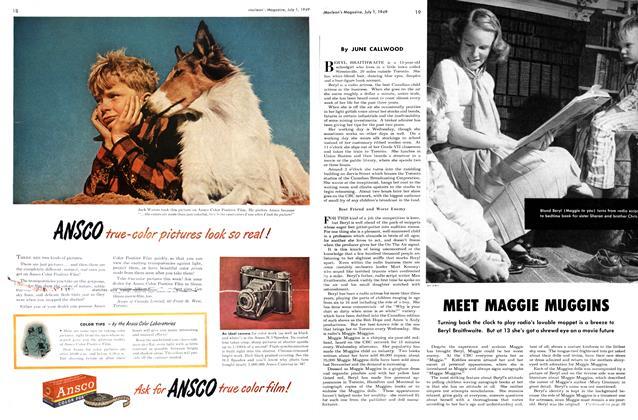 Article Preview: MEET MAGGIE MUGGINS, July 1949 | Maclean's