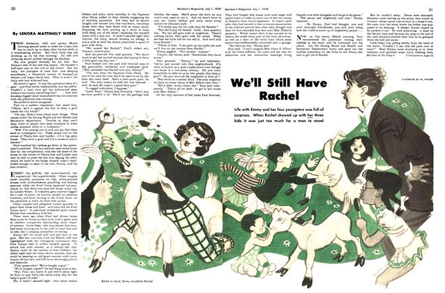 Article Preview: We'll Still Have Rachel, July 1949 | Maclean's