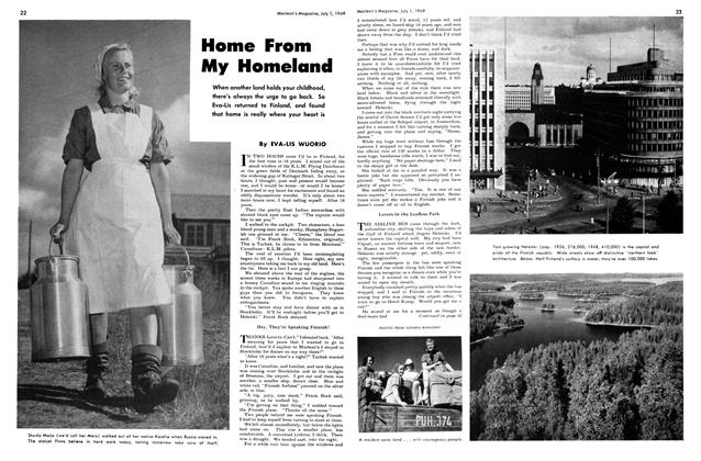 Article Preview: Home From My Homeland, July 1949 | Maclean's