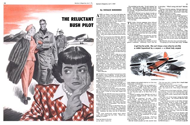 Article Preview: THE RELUCTANT BUSH PILOT, July 1949 | Maclean's