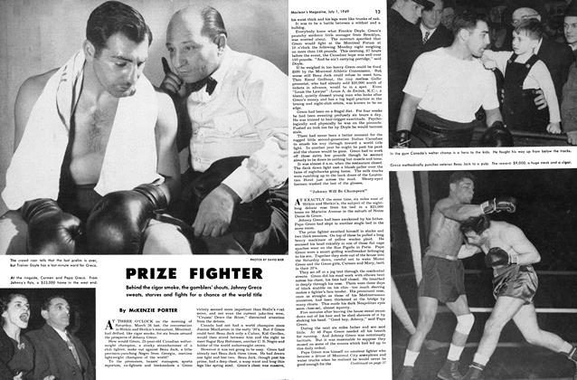 Article Preview: PRIZE FIGHTER, July 1949 | Maclean's