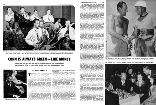 Article Preview: CORN IS ALWAYS GREEN - LIKE MONEY, July 1949 | Maclean's
