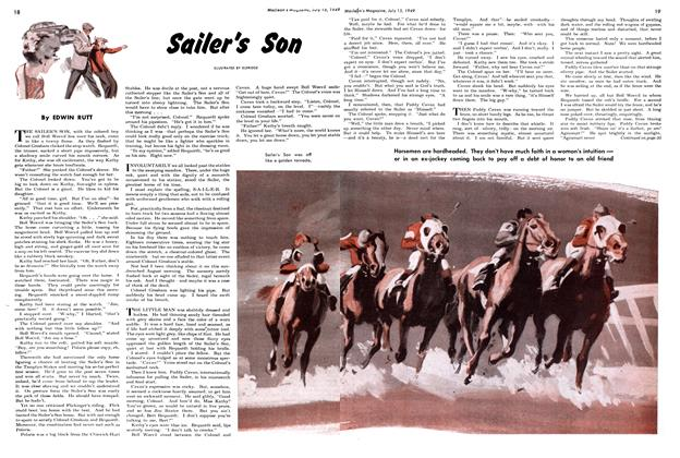 Article Preview: Sailer's Son, July 1949 | Maclean's
