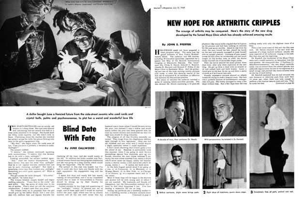 Article Preview: Blind Date With Fate, July 1949 | Maclean's