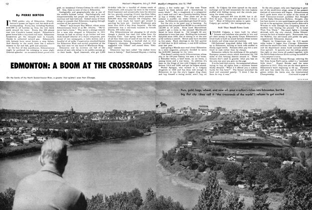Article Preview: EDMONTON: A BOOM AT THE CROSSROADS, July 1949 | Maclean's