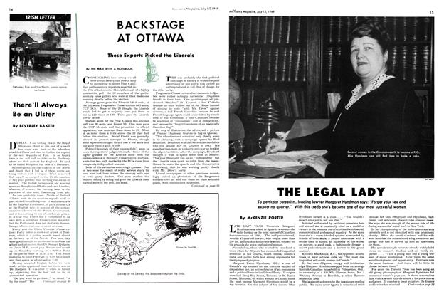 Article Preview: THE LEGAL LADY, July 1949 | Maclean's