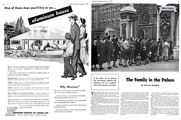 Article Preview: The Family in the Palace, August 1949 | Maclean's