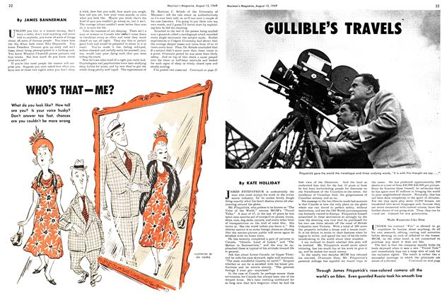 Article Preview: WHO'S THAT - ME?, August 1949 | Maclean's