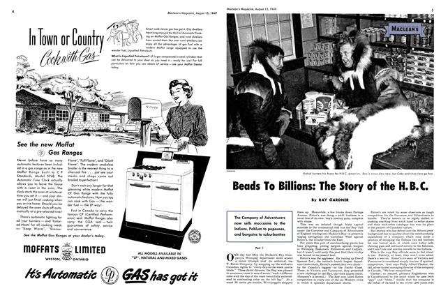 Article Preview: Beads To Billions: The Story of the H.B.C., August 1949 | Maclean's