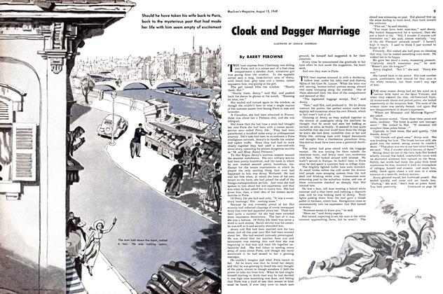 Article Preview: CLOAK AND DAGGER MARRIAGE, August 1949 | Maclean's