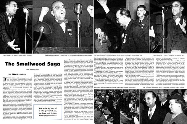 Article Preview: The Smallwood Saga, August 1949 | Maclean's
