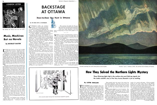 Article Preview: How They Solved the Northern Lights Mystery, September 1949 | Maclean's