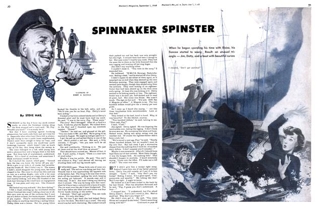 Article Preview: SPINNAKER SPINSTER, September 1949 | Maclean's
